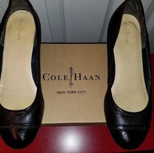 Cole Haan Black Millie Wedge